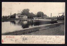 93005 AK Greifswald Wieck Restaurant zur Fähre Schiff Dampfer Greif 1904 Eldena | eBay