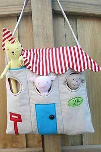 Animal House Bag Pattern