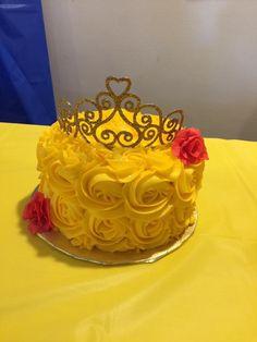 Beauty and the beast smash cake