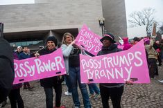 89 Badass Feminist Signs From The Women's March On Washington