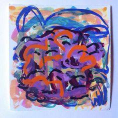 Gouache on paper Judith Farr 2015