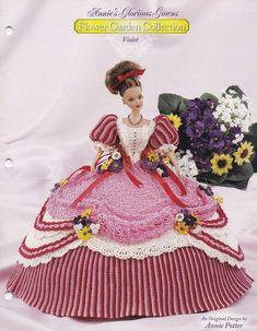 Violett Annies glorreichen Kittel Blumengarten Barbie Fashion