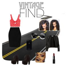 """""""Vintage/edgy look"""" by alicelynch on Polyvore"""