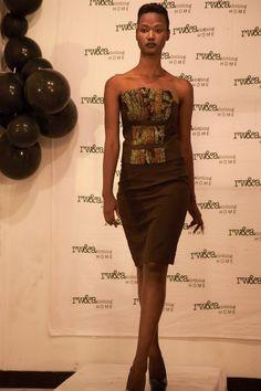 Model in RWANDA CLOTHING FASHION SHOW