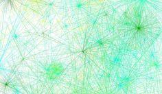 Garden Party Tie Dye inspired Abstract Generative Art by ArtAtomic