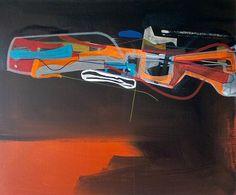 "Saatchi Art Artist: Jim Harris; Acrylic 2015 Painting ""Intrepid."""