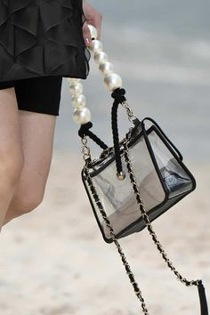 3ea6096241e13 39 Lust-Worthy Bags From Chanel's Beach-Themed Spring 2019 Show Chanel Beach ,