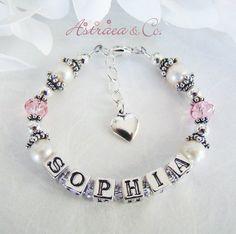 Real Pearl Baby Bracelet