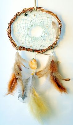 Hey, I found this really awesome Etsy listing at https://www.etsy.com/listing/219680530/dreamcatcher-ocean-dreams