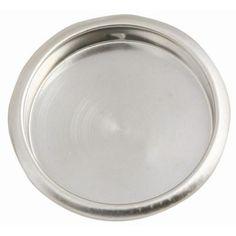 2-1/8 in. Satin Nickel Closet Door Finger Pull-202788 - The Home Depot