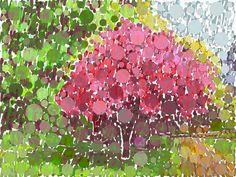 Andrea Mora title: Early Springtime No.7 (2015) original size: 140 x 105 cm digital painting