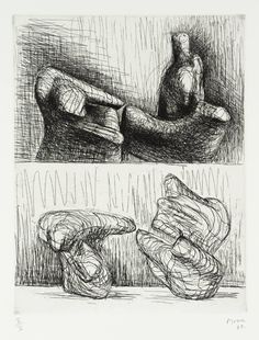 Henry Moore OM, CH 'Two Piece Reclining Figures: Points', 1969 © The Henry Moore Foundation, All Rights Reserved, DACS 2014