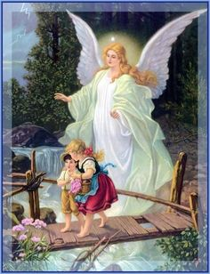 Angels are a gift from God,   given to each of us,   even before birth, all our prayers, bring them before God, even the bad things, they tell you every day, to be a humble person,