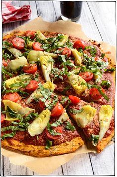The Best Vegan Pizza Recipes! Classic toppings like vegan cheese, basil, or pepperoni, and adventurous pizzas like jalapeno popper, and breakfast pizza! Gluten Free Pizza, Vegan Gluten Free, Gluten Free Recipes, Vegetarian Recipes, Healthy Recipes, Vegan Pizza Recipe, Pizza Recipes, Cooking Recipes, Gnocchi Vegan