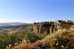 Hiking El Tajo Gorge In Ronda, Spain