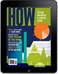 HOW Magazine - 8 ways to earn passive income as a graphic designer.
