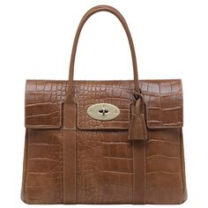 a8dd639baa19 Mulberry - Bayswater in Oak Printed Leather Mulberry Outlet