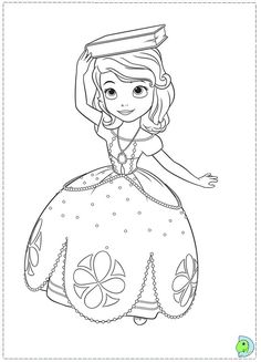Sofia_the_First Coloring Pages Printable