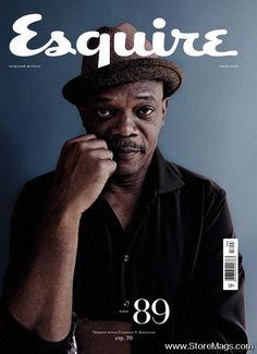 Samuel L Jackson -Esquire magazine cover [Russia] (June 2013)