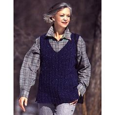 A Walk in the Country Sweater Vest - The A Walk in the Country Sweater Vest is an easy knitting pattern that produces beautiful results. This tutorial will teach you how to knit a sweater that you can throw on over your outfits for a light, yet warm layer that will keep you warm for leisurely outdoor strolls.