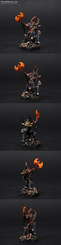 BloodyBeast.com: Chaos Lord of Khorne  miniature for #Warhammer Fantasy Battles