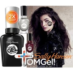 No Light Gel: Show Us Your Tribal Vibe in 2 Steps with Sally Hansen® Miracle Gel™: Contest Entry by coppin-s on Polyvore featuring beauty and Sally Hansen