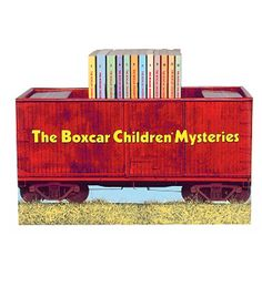 The Box Car Children's Book Set with Bookshelf, I loved these books as a little girl