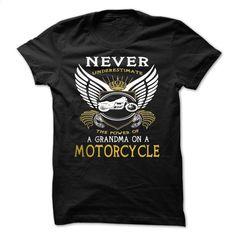 Grandma on Motorcycle T Shirts, Hoodies, Sweatshirts - #teas #custom hoodies. SIMILAR ITEMS => https://www.sunfrog.com/LifeStyle/Grandma-on-Motorcycle-adneddzwzy-Black-12572897-Guys.html?60505