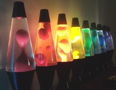 Lava Lamps [Centerpiece option]