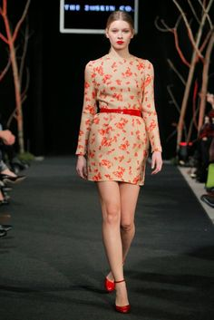 Hunger for style: Rosso Valentino | The 2nd Skin Co. dress
