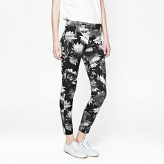 Lotus Denim - Break out of your style rut by slipping into these Lotus printed denim leggings. Printed Denim, Denim Leggings, Lotus, Your Style, Pants, Collection, Fashion, Trouser Pants, Moda