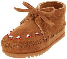 9179271c184 Minnetonka Beaded Moccasin (Toddler Little Kid Big Kid) Minnetonka.  29.95.  Beaded MoccasinsSuede BootsSuede ...