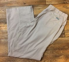 Grey's Anatomy Khaki Tan Drawstring Waist Scrub Pants Size XL X-Large Style 4232 #GreysAnatomy