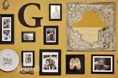 My Shtub: Gallery wall AHHHHHHHH