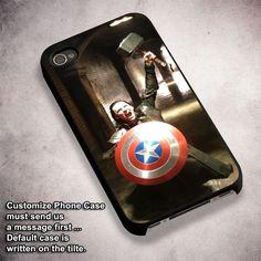 Loki Thor Captain America - For iPhone 4/ 4S/ 5/ 5S/ 5SE/ 5C/ 6/ 6S/ 6 PLUS/ 6S PLUS/ 7/ 7 PLUS Case And Samsung Galaxy Case