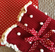 Crochet with Kate - Bobbly Baby Blanket on the LoveCrochet blog