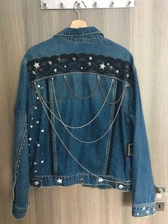 Buy and sell beautiful things super easily with Shpock. Denim Style, Denim Fashion, Awesome, Check, Jackets, Stuff To Buy, Beautiful, Down Jackets, Be Awesome
