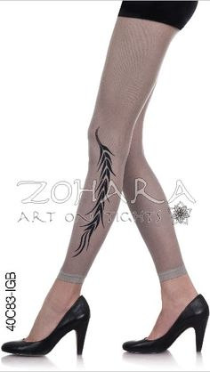 We just added a new sheer tights collection by Zohara Art on Tights!