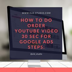 Read Steps on ELD STUDIO Website - How to do Order Video Creation for the YouTube Advertisement | Creation Video for YouTube Ads using Powtoon service | Video creation for YouTube Marketing |  Youtube Ads | TrueView for Action In-Stream Ads campaign | YouTube In-stream Ads on Google Ads | YouTube Discovery Ads on Google Ads | Order creation Video from 30 seconds to 1 minute for your YouTube Channel for Google Ads by affordable price now! #GoogleAds #ad #ads #youtube #youtubeads #youtubead