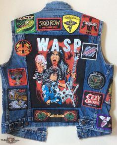 METAL SAVAGE's W.A.S.P., Wasp Battle Jacket   TShirtSlayer