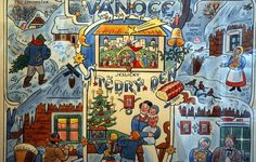 Winter Christmas, Merry Christmas, Inspirational Books, Children's Book Illustration, Xmas Cards, Czech Republic, Four Seasons, Childrens Books, Illustrators
