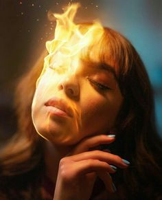 by Calop photoshop edit editing burning face flames Calob Castellon Fire Photography, Creative Portrait Photography, Surrealism Photography, Photography Tricks, Inspiring Photography, Stunning Photography, Beauty Photography, Digital Photography, Photo Retouching