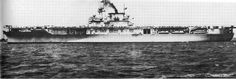USS Enterprise (CV-6), 13 May 1938, a day after commissioning. Norfolk, Virginia.