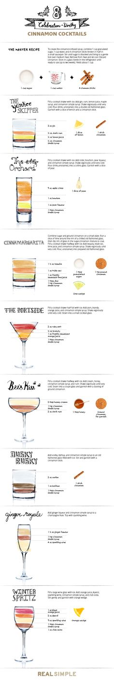 Feeling short on holiday spirit? One sip of these festive cocktails is guaranteed to get you in the mood in no time.