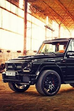 Mercedes G-class -------  i would love to drive this car, if I only know how to drive.
