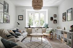 A dreamy & cozy Scandinavian apartment