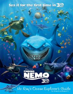 Education Finding Nemo - This handy Explorer's Guide introduces students and kids to the real stars of Nemo's neighborhood. Learn about the animals of the Great Barrier Reef together as a class!