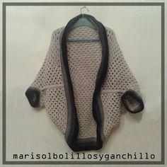 CHAQUETA/ CHALECO... NO EE MUY BIEN COMO DEFINIRLO #ganchillo #crochet #chaqueta #chaleco #hechoamano