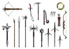 "A collection of weapon illustrations created for Reality Blurs RPG setting ""Iron Dynasty"". The client wanted the weapons to be unique but historically accurate, so most of the fun I had lies in the..."