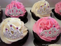 Two of my Favorite things Tiaras and Cupcakes!!!